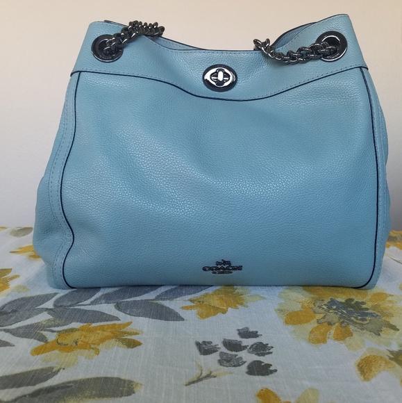 d665ef41f57b Coach Handbags - Coach Turnlock Edie Shoulder Bag